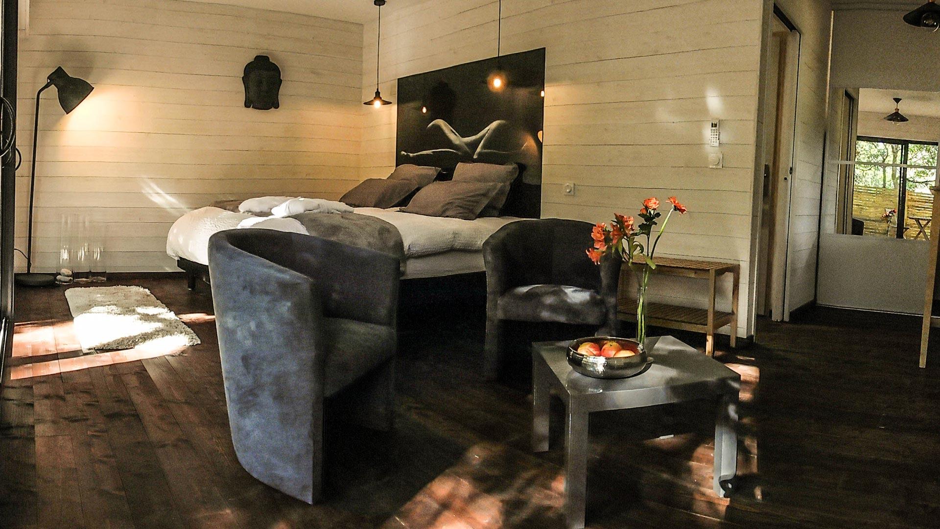 2 chambres d hotes en cabane spa dans le bassin d Arcachon Bordeaux