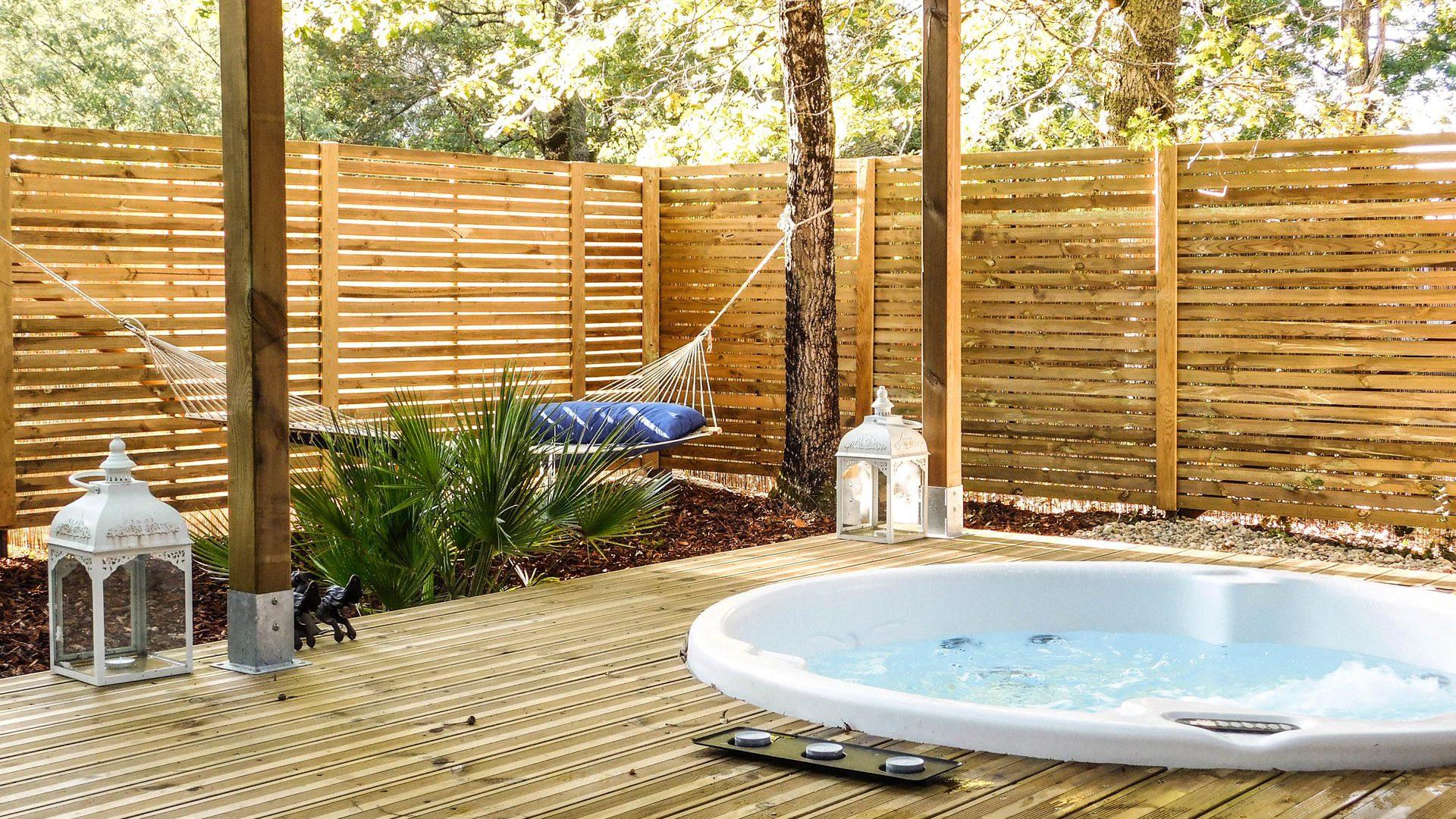 Chambres d 39 hotes en cabane et spa bordeaux audenge for Spa luxe bordeaux