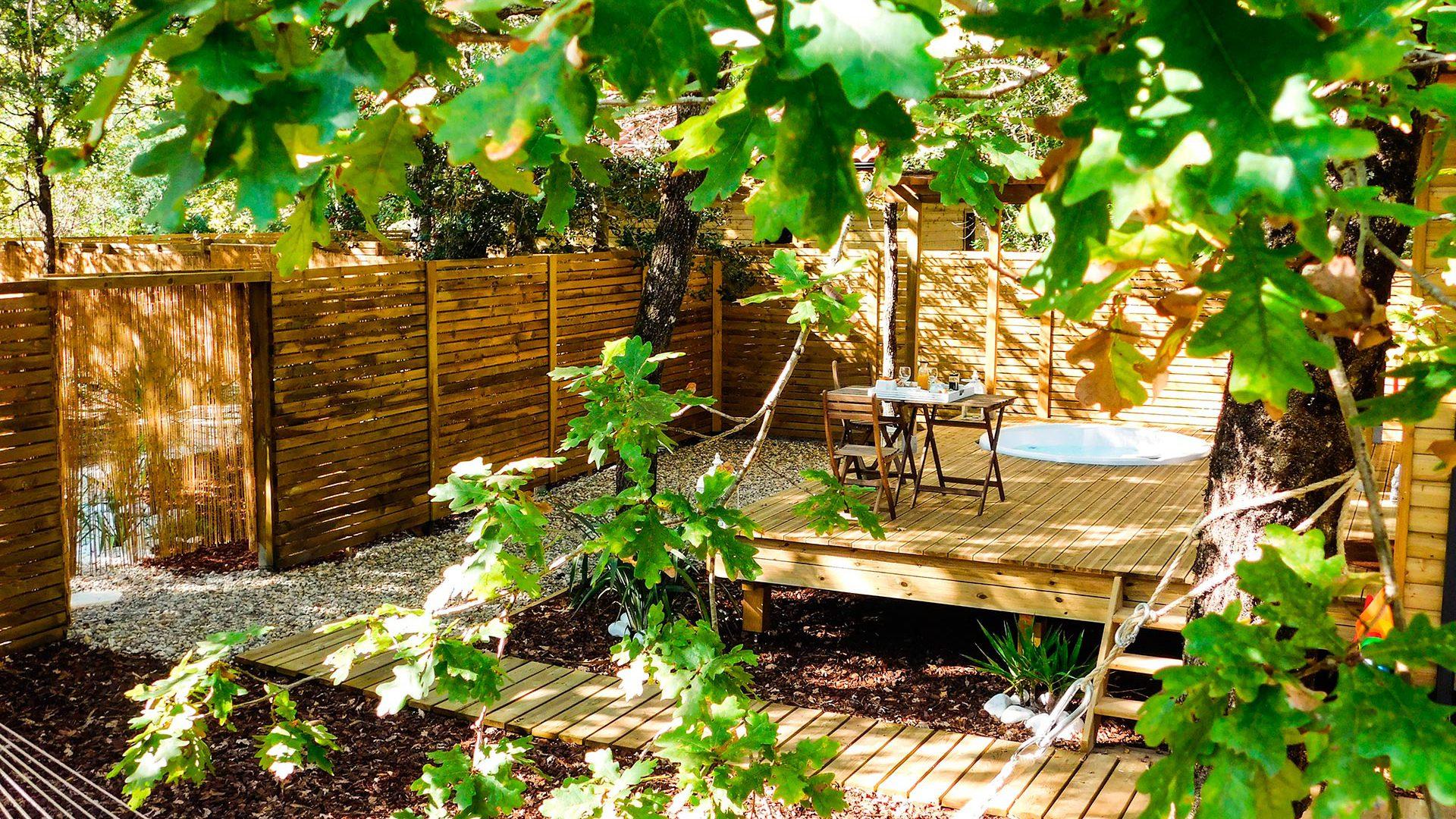 Chambres d hotes en cabane et spa Bordeaux  Audenge